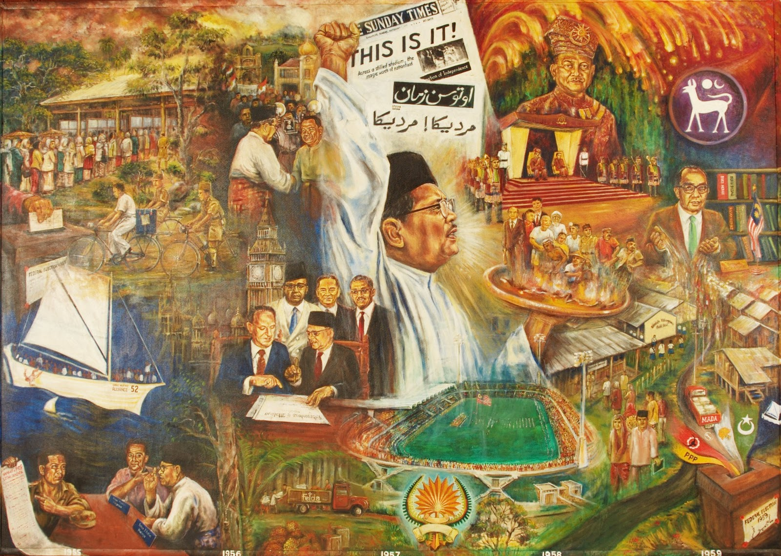 the history of malaysia Scroll right and click on the icons or text to explore an era of malaysia's history.