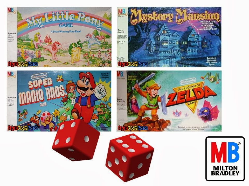 80 S Milton Bradley Toys : The toy box milton bradley board games of s