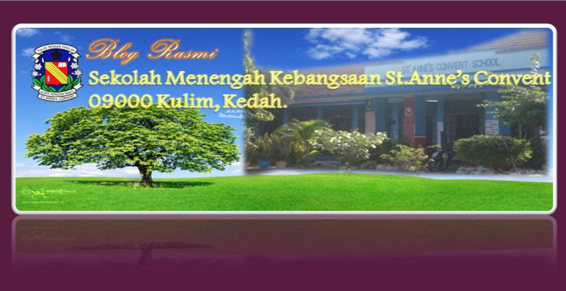 BLOG RASMI SEKOLAH MENENGAH KEBANGSAAN ST.ANNE'S CONVENT