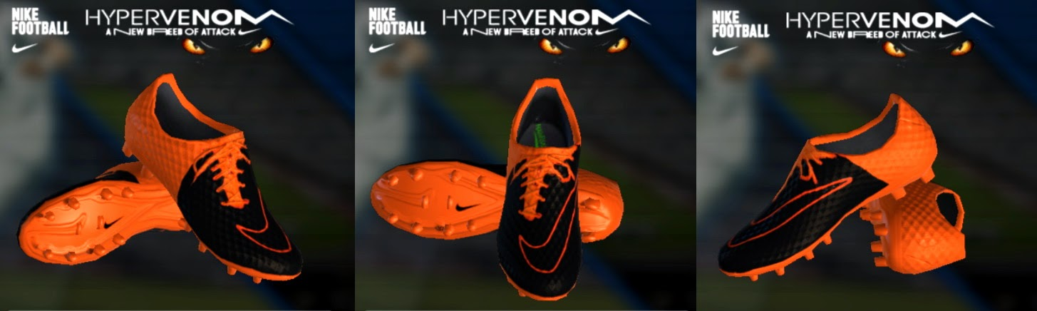 PES 2013 Nike Hypervenom 2 Leather Boots by jvdubf