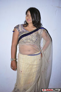 Actress Tanusha  Picture Gallery in Saree at Present Love Movie Audio Launch  0007