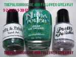 ThePolishHoochie&#39;s 400 Followers Giveaway!