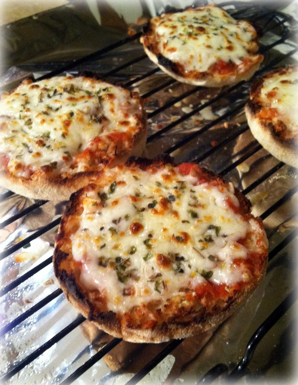 Dad's English Muffin Pizzas Recipes — Dishmaps