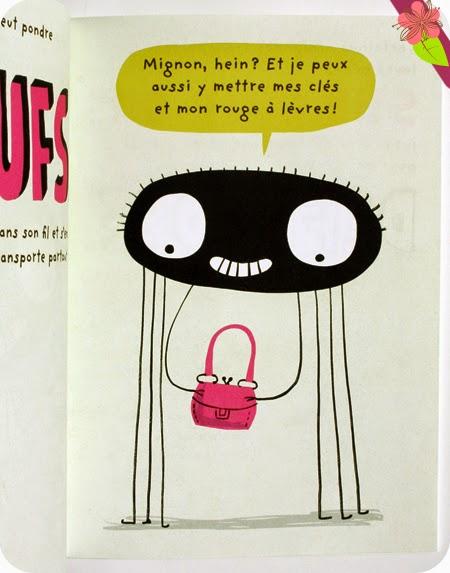 L'araignée d'Elise Gravel - éditions Le Pommier