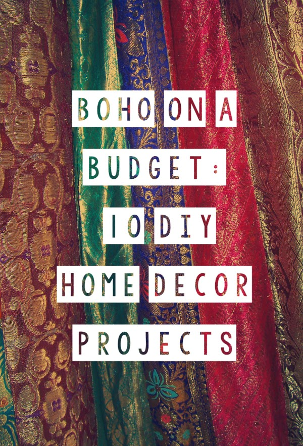 Boho On A Budget 10 DIY Home Decor Projects