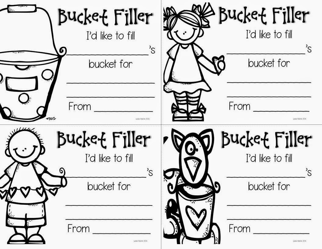Primary Chalkboard: Have You Filled a Bucket Today??