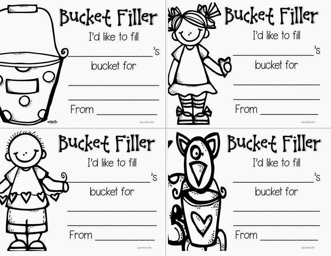 Bucket Filler Printables | just b.CAUSE