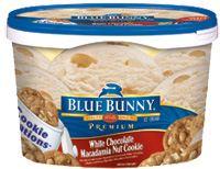 Michi photostory blue bunny ice cream for White chocolate macadamia nut ice cream