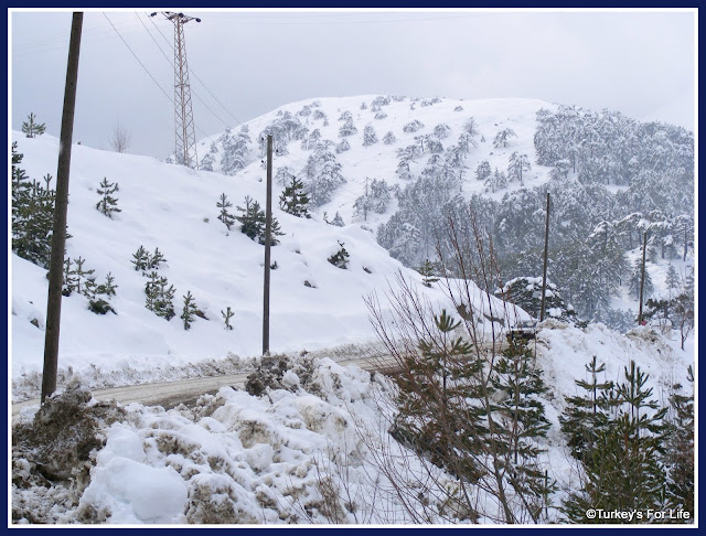 Snow At Nif Near Fethiye