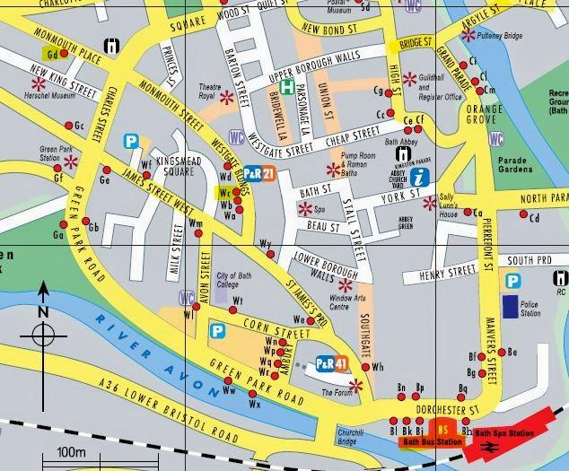 salisbury town centre map pdf