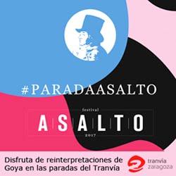 Tranvías de Zaragoza Parada Asalto