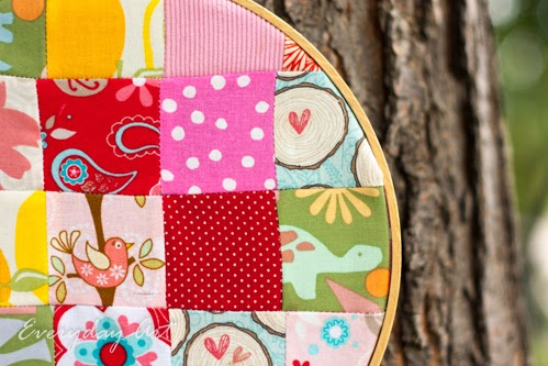 http://www.our-everyday-art.com/2014/09/patchwork-embroidery-hoop.html