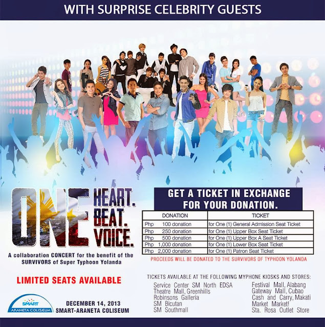 OneHeart, OneBeat, OneVoice a concert for Survivors!