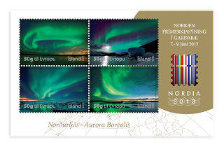 Iceland: Nordia 2013 - Northern Lights - http://stamps.postur.is/