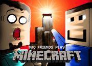 OJogos-Two friend play Minecraft
