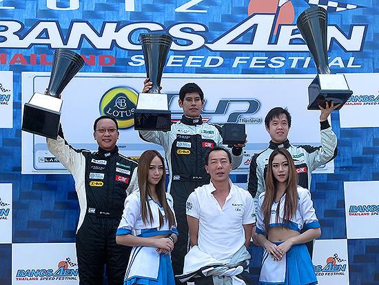ผลการ แข่งรถ lotus cup thailand 2012