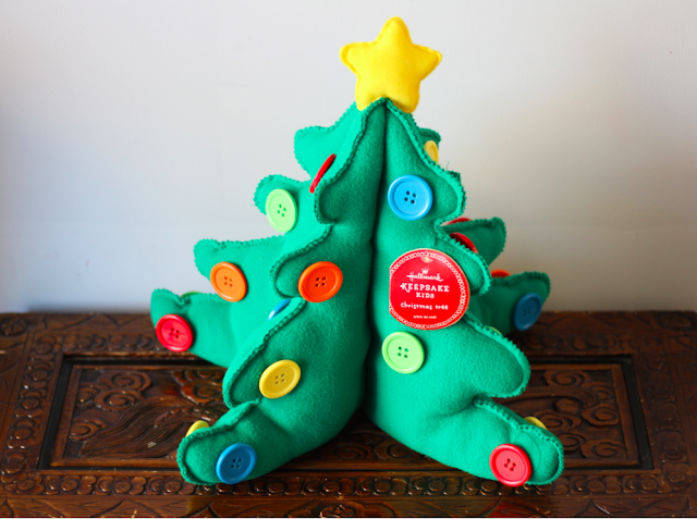 Hallmark Canada Keepsake Kids My First Tree #LoveHallmarkCA