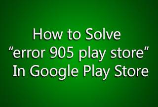 Error 905