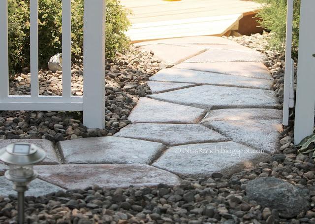 Concrete Stone Walkway