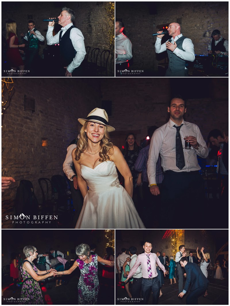 Dance floor action at Cripps Barn wedding