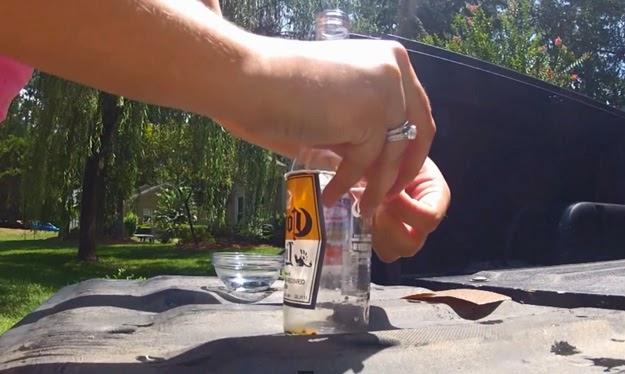 how to make beer bottle glasses