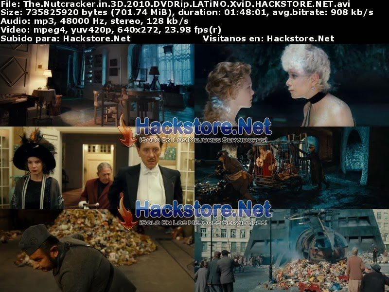 Captura El Cascanueces La Historia Nunca Antes Contada (2010) DVDRip Latino