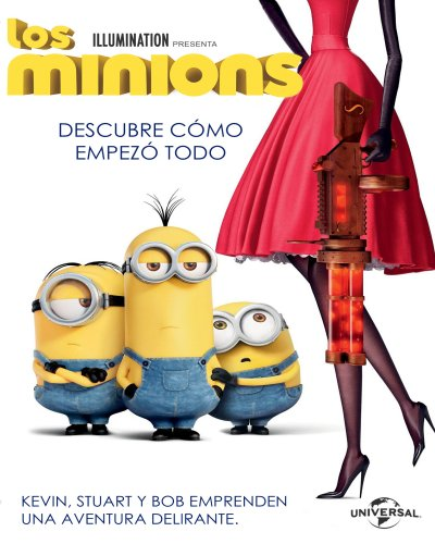 Minions (BRRip 1080p Dual Latino / Ingles) (2015)