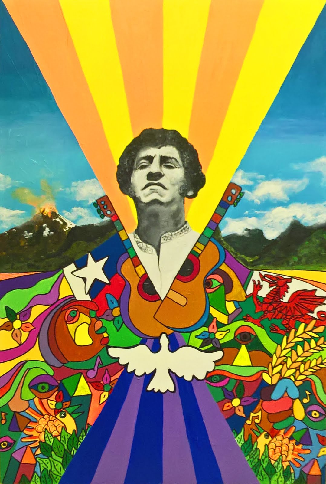 Alternative version of Victor Jara poster