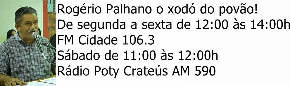 Radialista Rogério Palhano