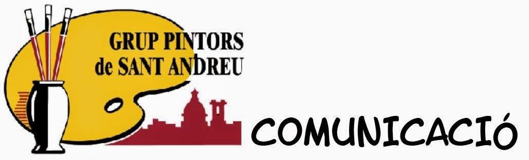 Grup Pintors de Sant Andreu. COMUNICACIÓ