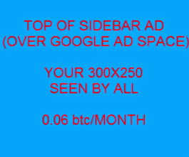 GREAT BARFSTEW - TOP OF SIDEBAR ADVERTISING - NEW PRICE ON ALL ADS ON ADVERTISING PAGE