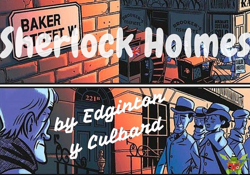 Hablamos de la saga de Sherlock Holmes de Norma en Youtube