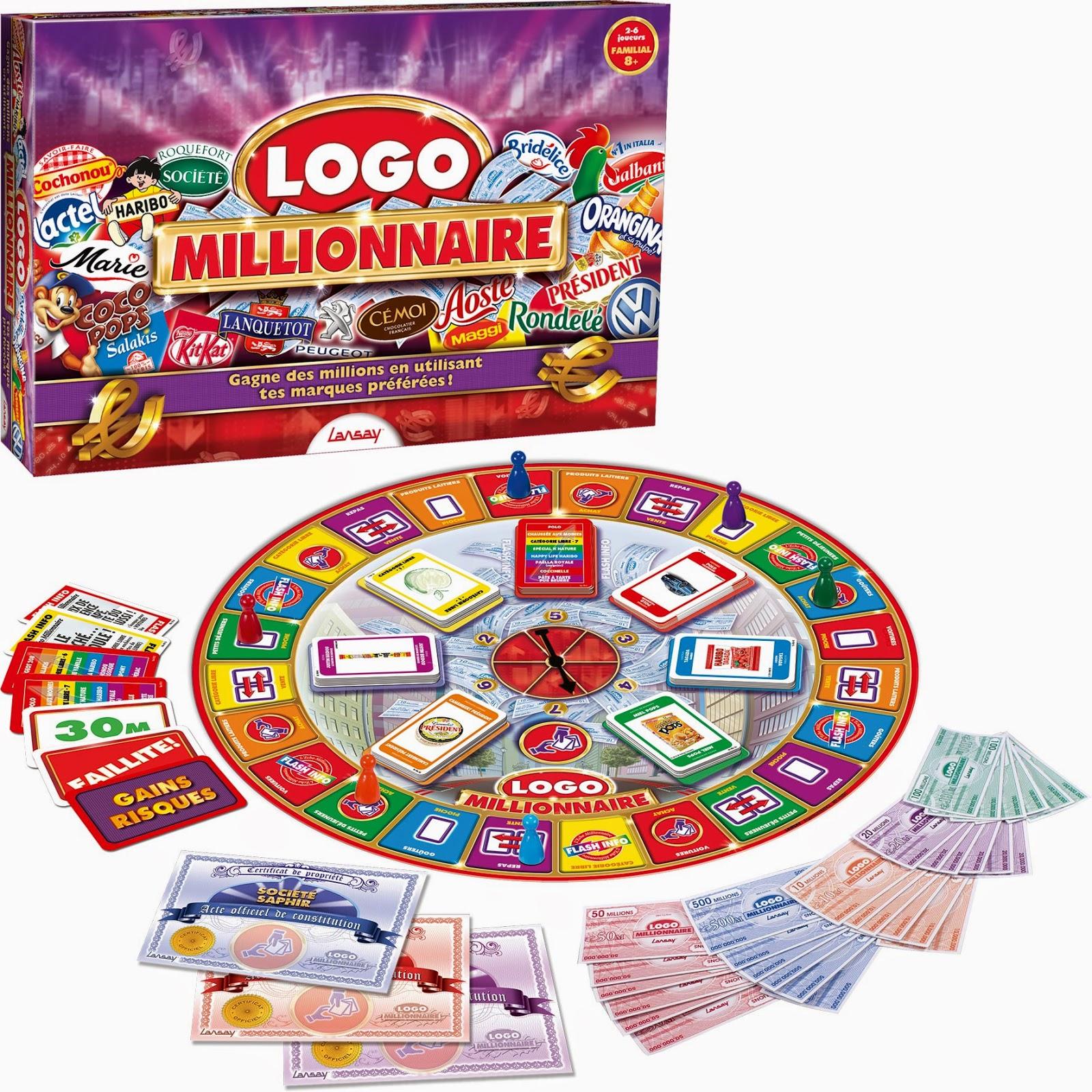 jeu logo millionnaire, avis logo millionnaire