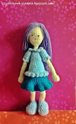 lalka na szydełku