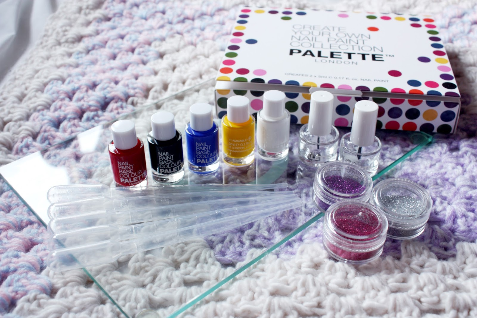 PALETTE LONDON – MIX YOUR OWN NAIL VARNISH REVIEW