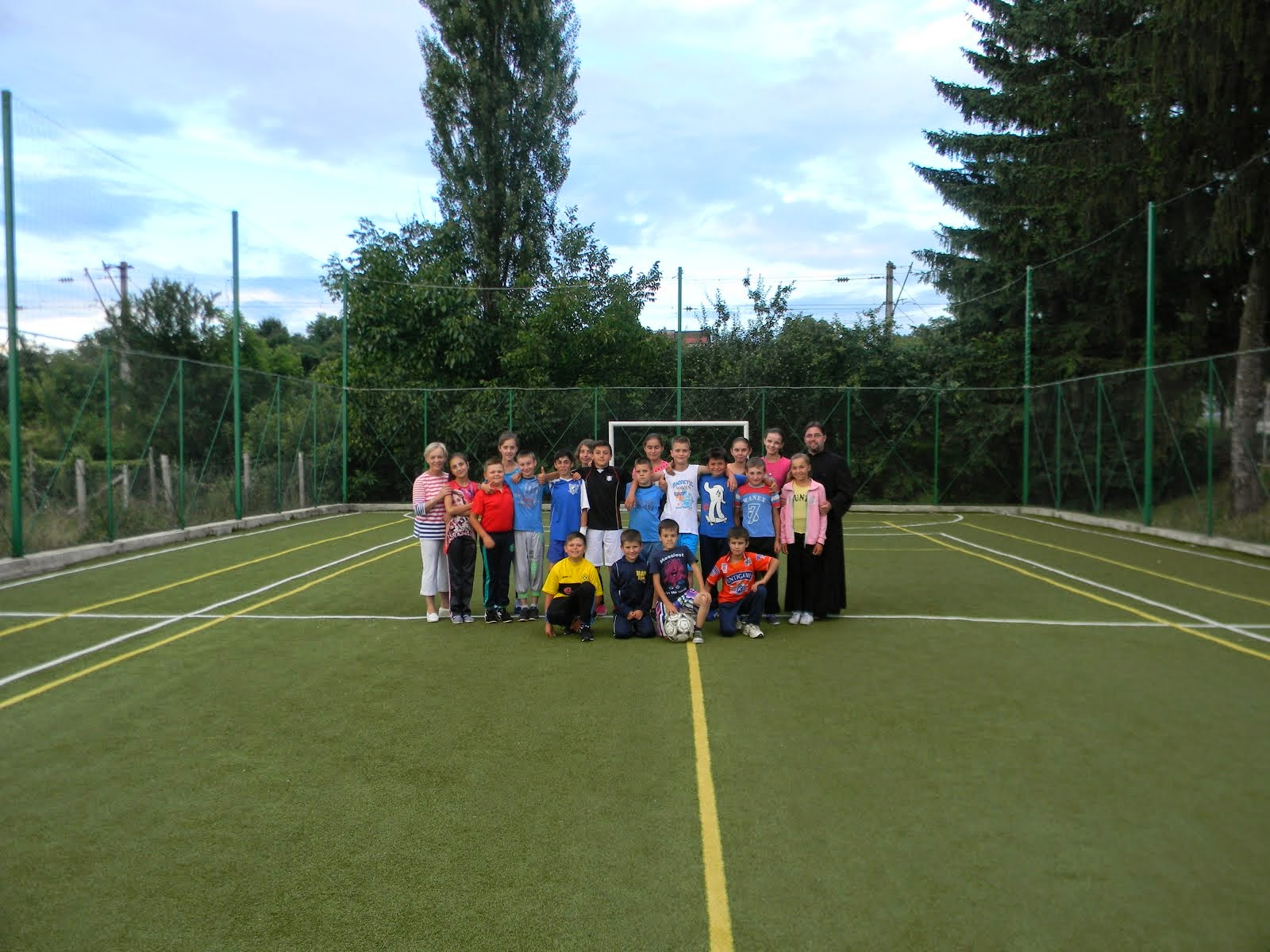 Activitati modulare cu tinerii in cursul vacantei de vara 2014