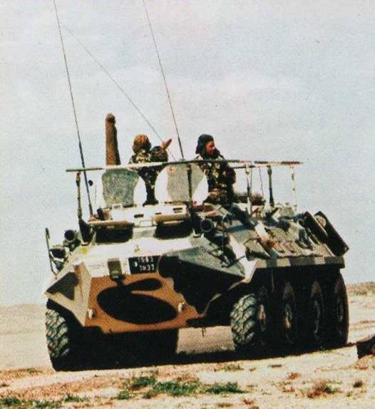 Fuerzas Armadas de Argelia Btr-6010