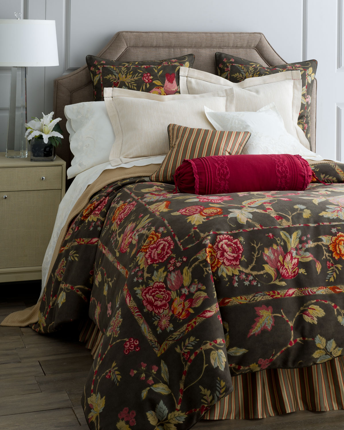 Simple I think it es from spending my childhood in wallpaper stores perusing wallpaper sample books Cape Catherine Duvet Cover by