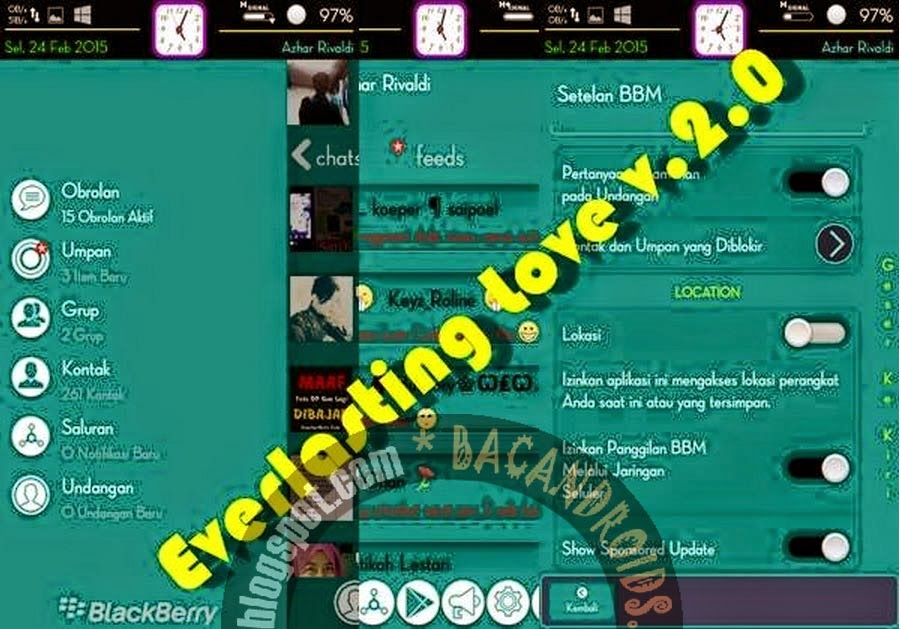 download apk BBM Mod 2.6.0.30 Everlasting