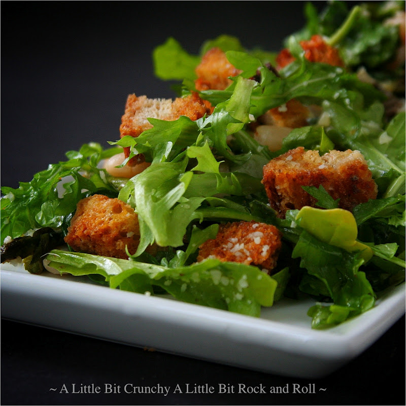 ... Little Bit Rock and Roll: Roasted Spring Vegetable Panzanella