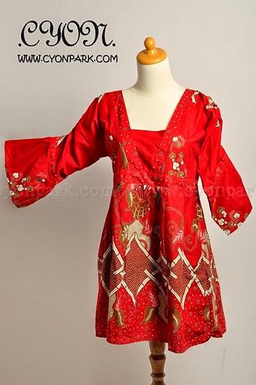 Foto Baju Batik Baby Doll