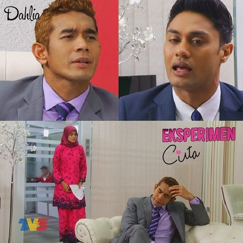 Senarai pelakon utama drama Eksperimen Cinta TV3, pelakon tambahan, pelakon pembantu, gambar drama Eksperimen Cinta TV3