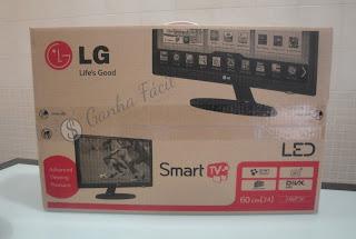 SmartTv LED LG freebiejeebies prize prémio free ganha ganhar