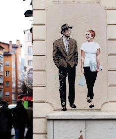 Street art a Melbourne: Ghostpatrol