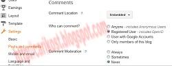 Mencegah Komentar Spam di Blog