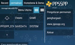 Cara Mudah Memainkan Game PSP di Android