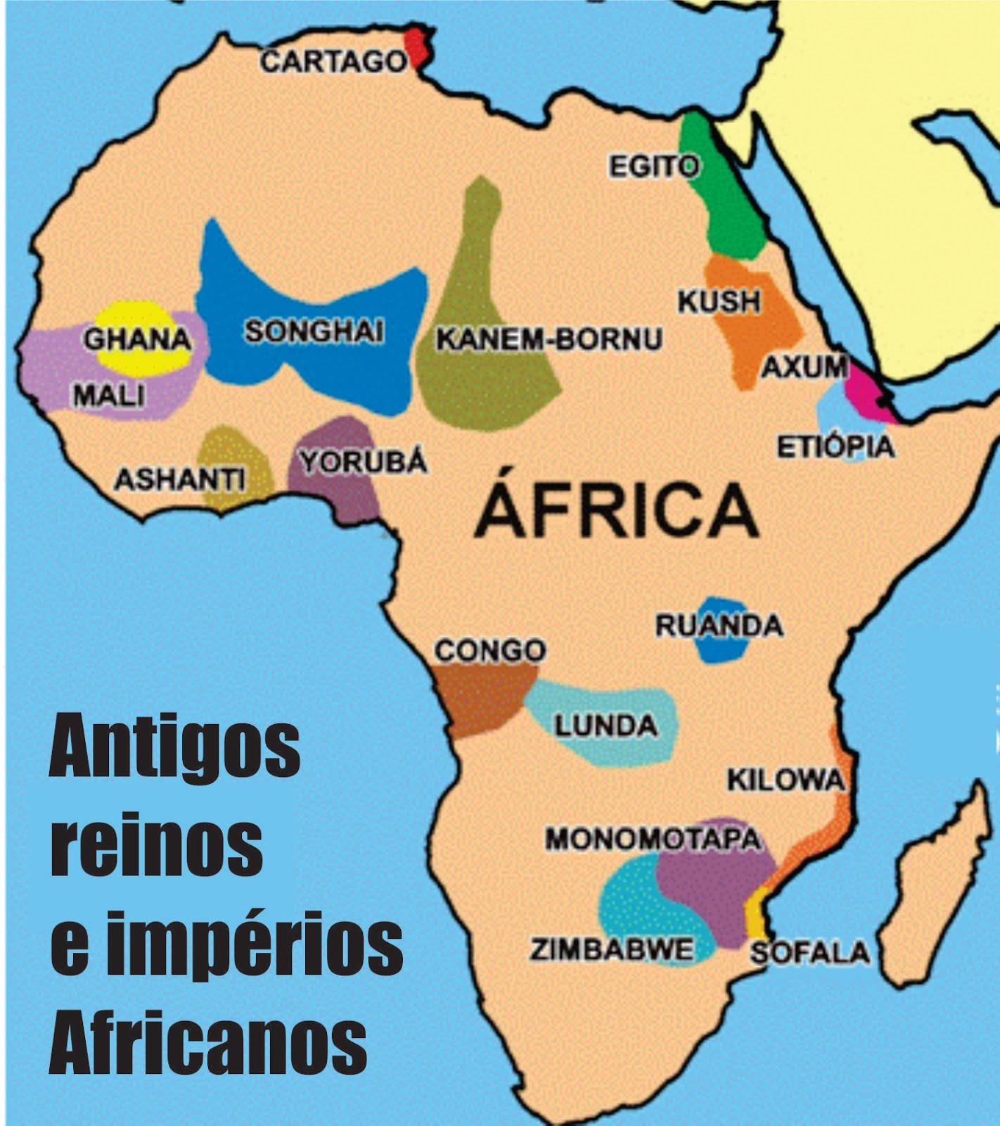 GRANDES REINOS DA ÁFRICA