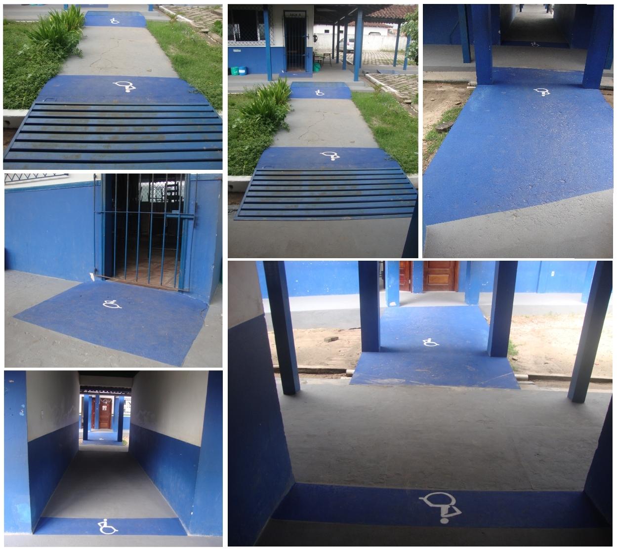 Mais um passo a caminhando da acessibilidade Escola Clóvis de Souza  #115EBA 1249x1112 Adaptação Banheiro Cadeirante