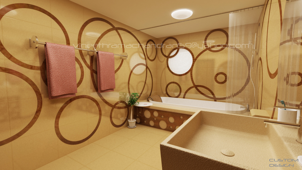 Design 3d interior design bathroom for Bathroom interior design 3d