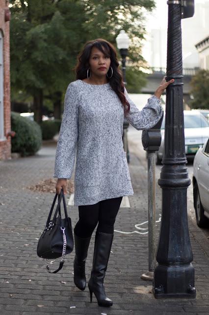 Sweater Dress ~ M7051